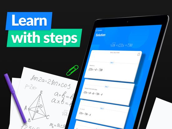 iPad Image of SnapCalc - Math Problem Solver