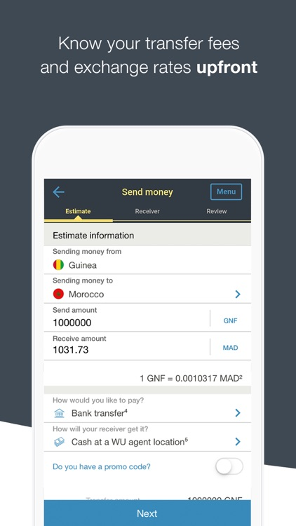 WesternUnion GN Money Transfer