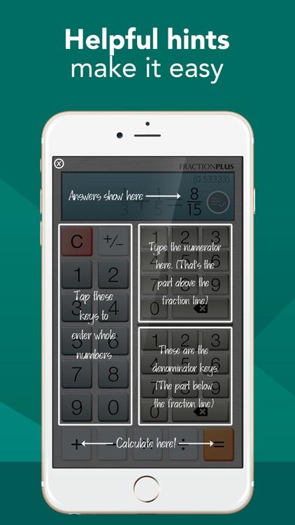 Fraction Calculator Plus #1 screenshot-3