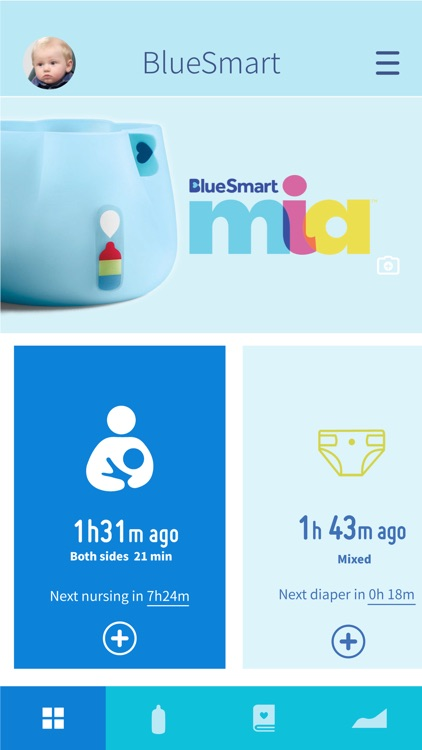 BlueSmart Baby Tracker