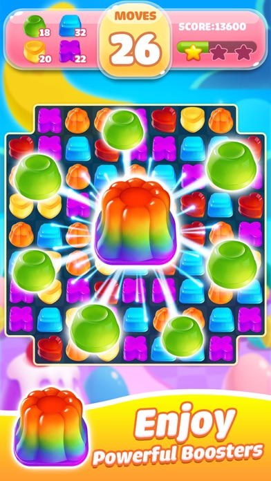Jelly Jam Blast - Match 3 Game screenshot three