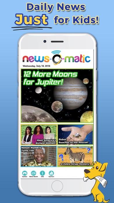 Screenshot #1 pour News-O-Matic: Reading for Kids