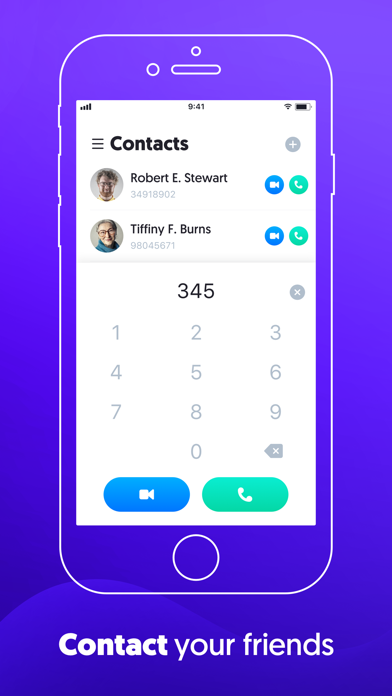 Cally - Voice and Video Calls Screenshot