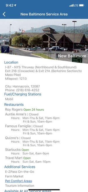 NYS Thruway Authority on the App Store