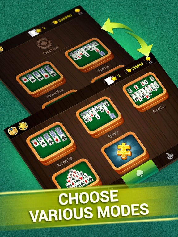 Magic Solitaire - Card Games screenshot 10