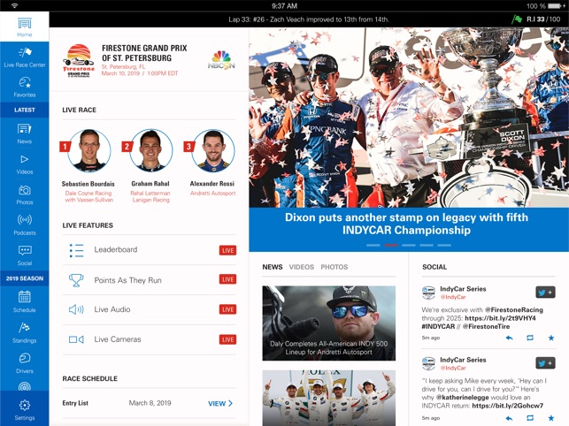 INDYCAR on the App Store