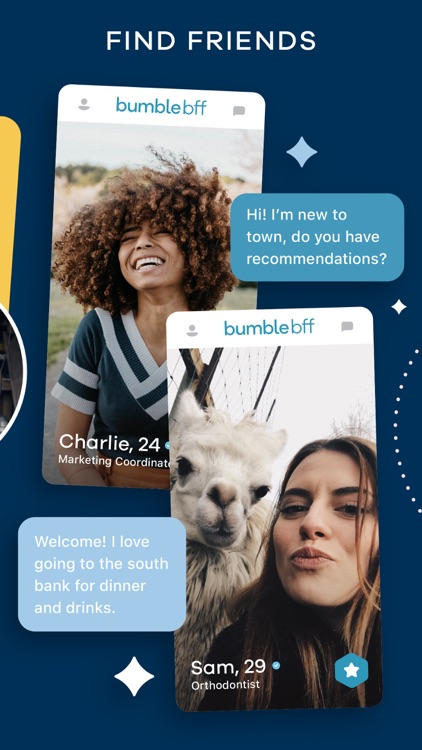 Bumble dating app for BlackBerry