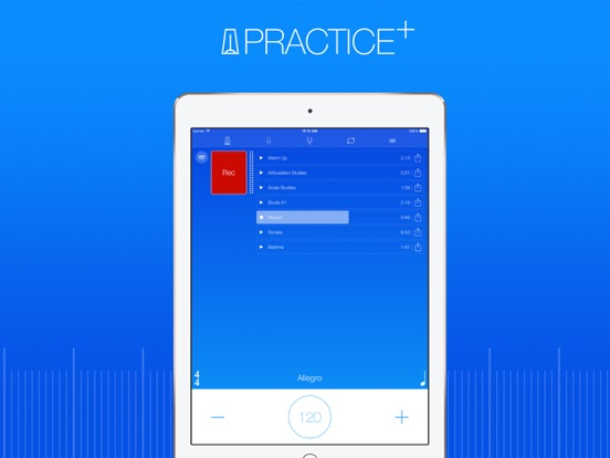 Practice+ Tuner, Metronome, Recorder and More... screenshot