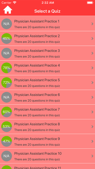 Physician Assistant Practice screenshot 2