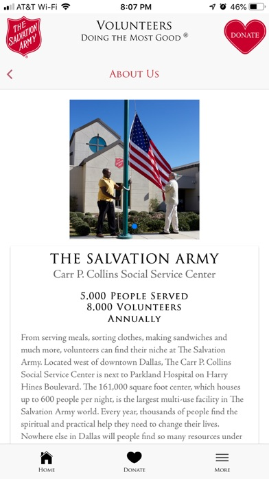 The Salvation Army - DFW screenshot 9