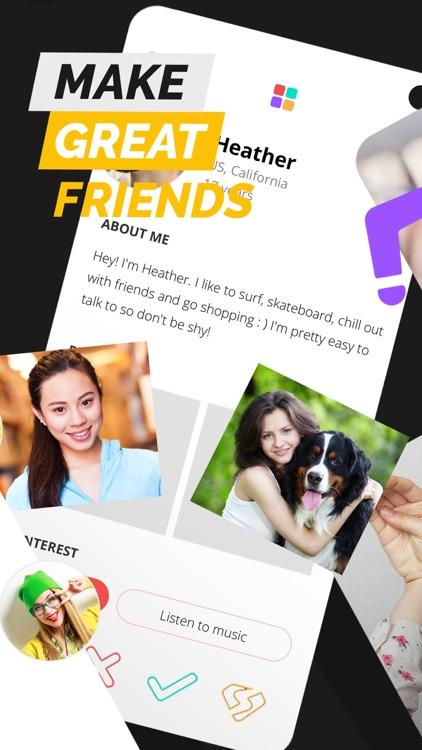 Spotafriend - Meet Teens App
