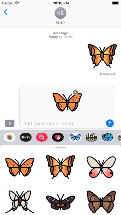 ButterfliesMi screenshot-3