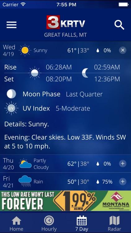 KRTV STORMTracker Weather App screenshot-3