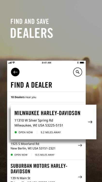 Harley-Davidson screenshot-3
