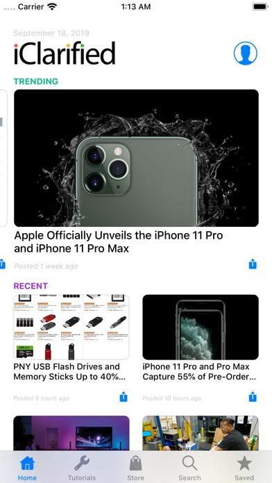 Iclarified review screenshots