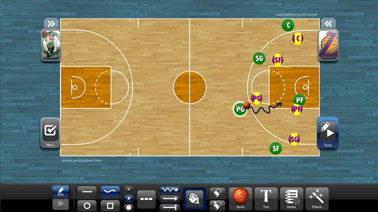 TacticalPad Basketball