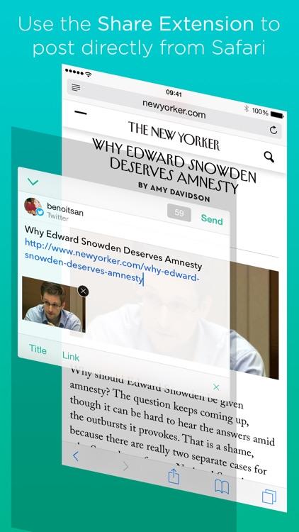 Linky for Twitter and Mastodon screenshot-0