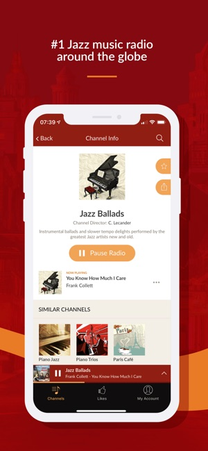 Jazz Radio - Enjoy Great Music on the App Store