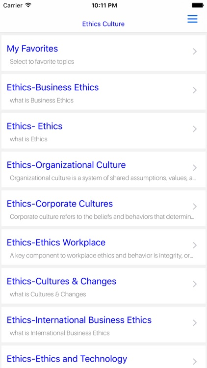 MBA Ethics Culture screenshot-4