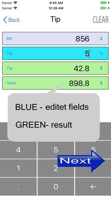 Simple percentage calculator screenshot-6