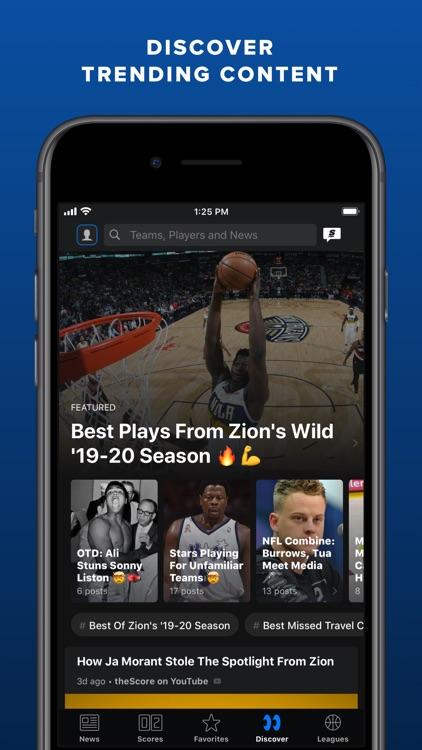 theScore: Sports News & Scores screenshot-7