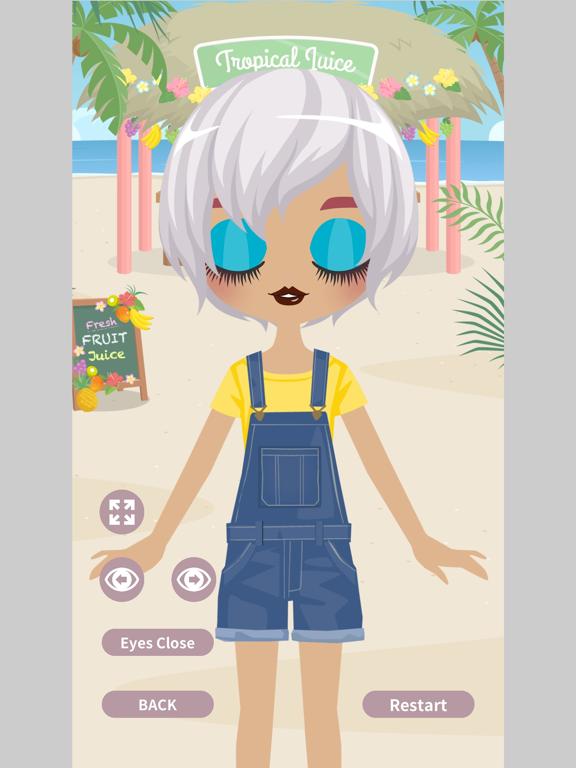 Cute Eyes Maker - メイクアップゲームのおすすめ画像4