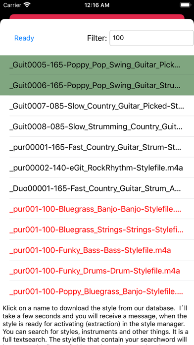 Screenshot for Backing Track Creator 5 in Indonesia App Store