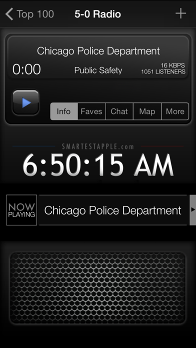 5-0 Radio Pro Police Scanner Screenshots