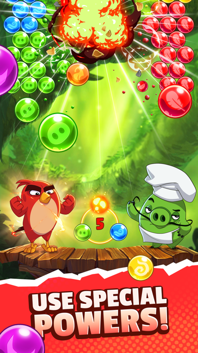 Angry Birds POP 2 screenshot 1