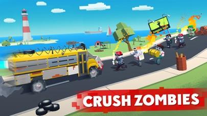 Zombie Derby: Pixel Survival screenshot 1