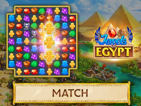 Jewels of Egypt: Match Game screenshot 9