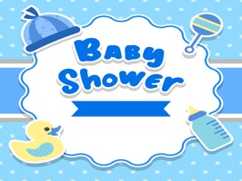 The BabyShowerNPD is a small sticker, which are show the 50 Baby Shower NPD sticker in cartoon