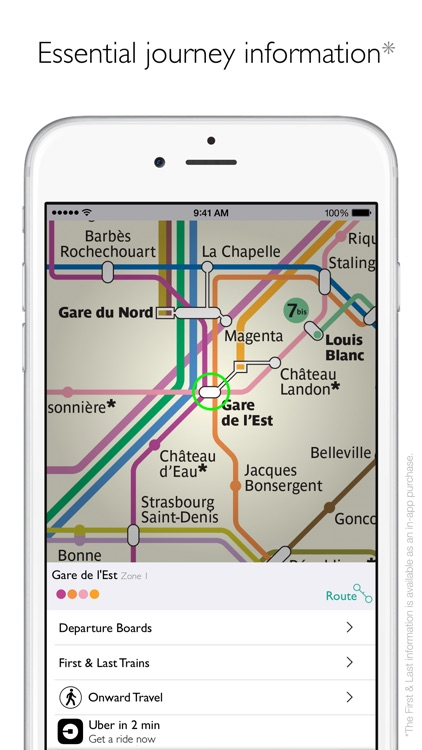 Paris Metro Map and Routes screenshot-3