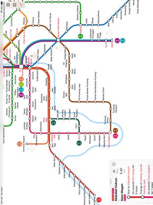 Screenshot #6 pour Kuala Lumpur Metro