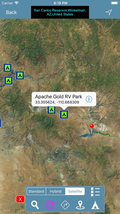 ARIZONA: Campgrounds & RV's screenshot-5