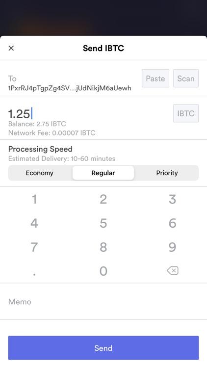 iBitcoin Wallet (iBTC) screenshot-8