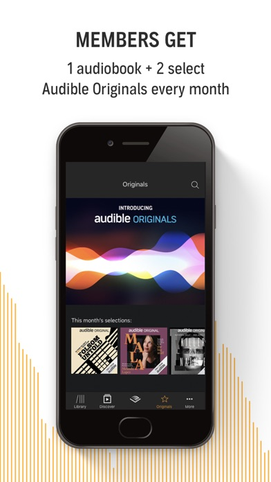 download Audible audiobooks & originals for PC
