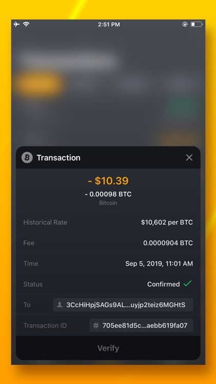 UNSTOPPABLE - Bitcoin Wallet screenshot-4