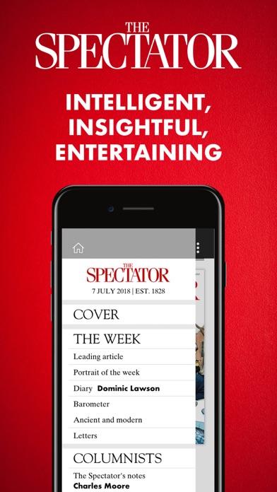 The Spectator Magazine Screenshot