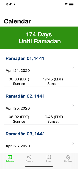 wann beginnt ramadan 2020