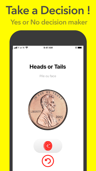 Heads or Tails + Roll the Dice screenshot one