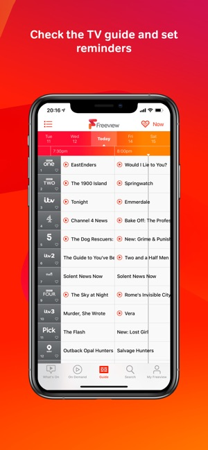 Freeview on the App Store