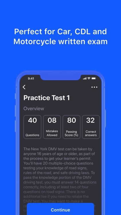 DMV Permit Practice Test Genie screenshot-3