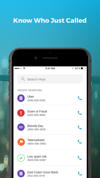 Hiya: Caller ID & Spam Blocker by Hiya (iOS, United States