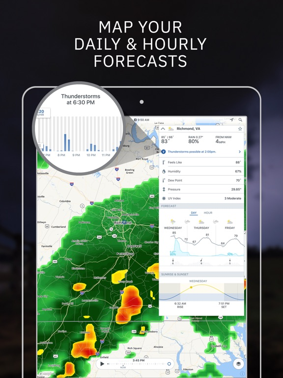storm  live hurricane radar by the weather channel