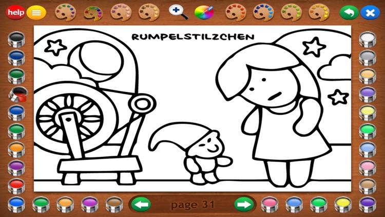 Fairy Tales Coloring Book screenshot-5