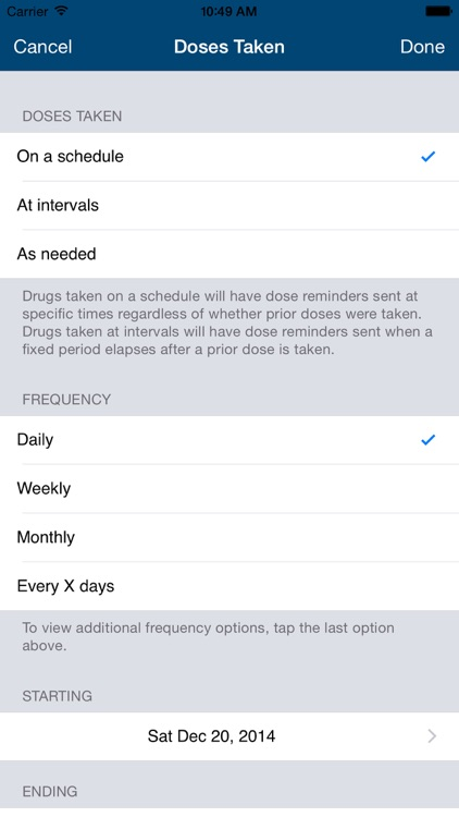 Dosecast: My Pill Reminder App screenshot-3