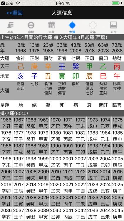 論八字(實用) screenshot-4