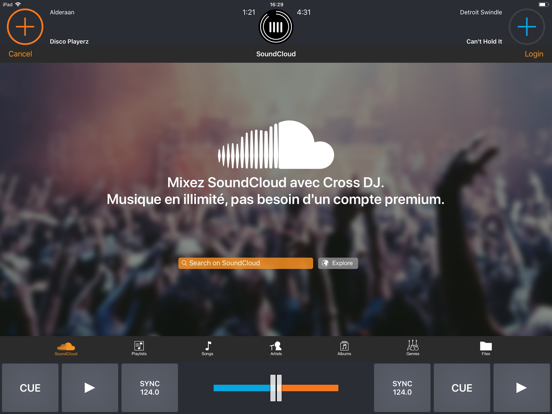Cross DJ Free - Mix your music screenshot