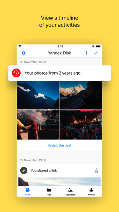 Yandex.Disk saves your photos for Windows